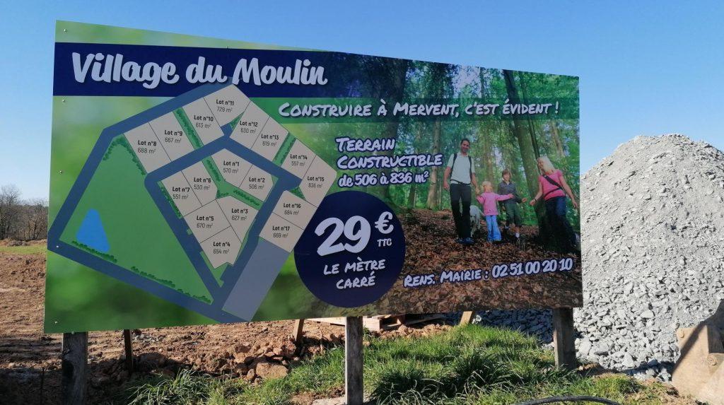 Village du Moulin constructible à Mervent 85200