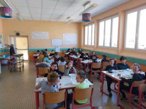 Cantine de l'école primaire Maro Vidua à Mervent