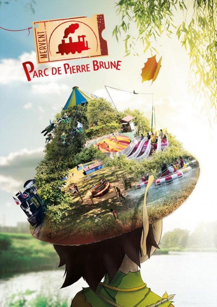 Parc de Pierre Brune à Mervent