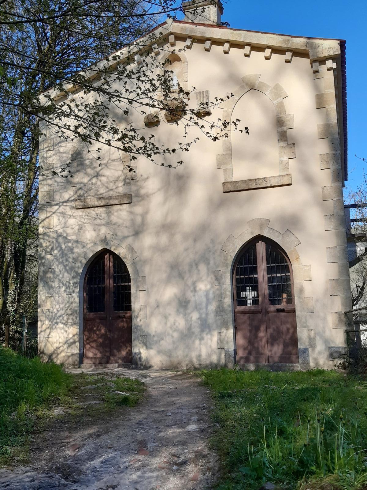 Grotte du Père Montfort à Mervent en Vendée