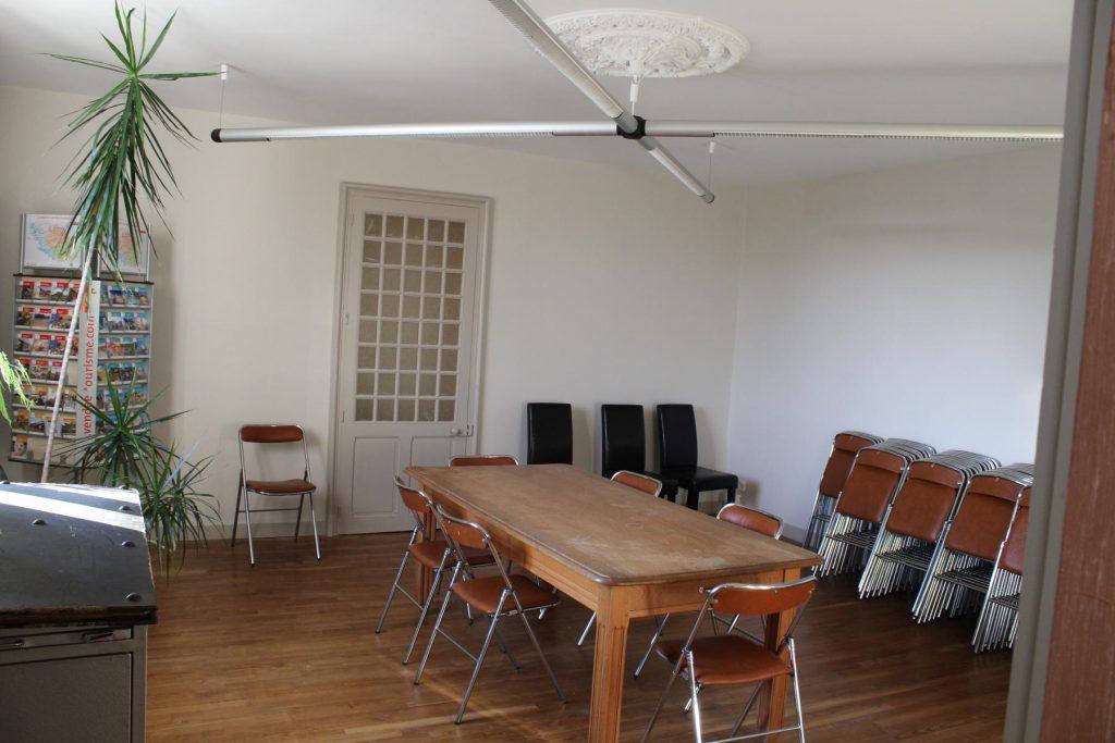 Salle municipale à Mervent