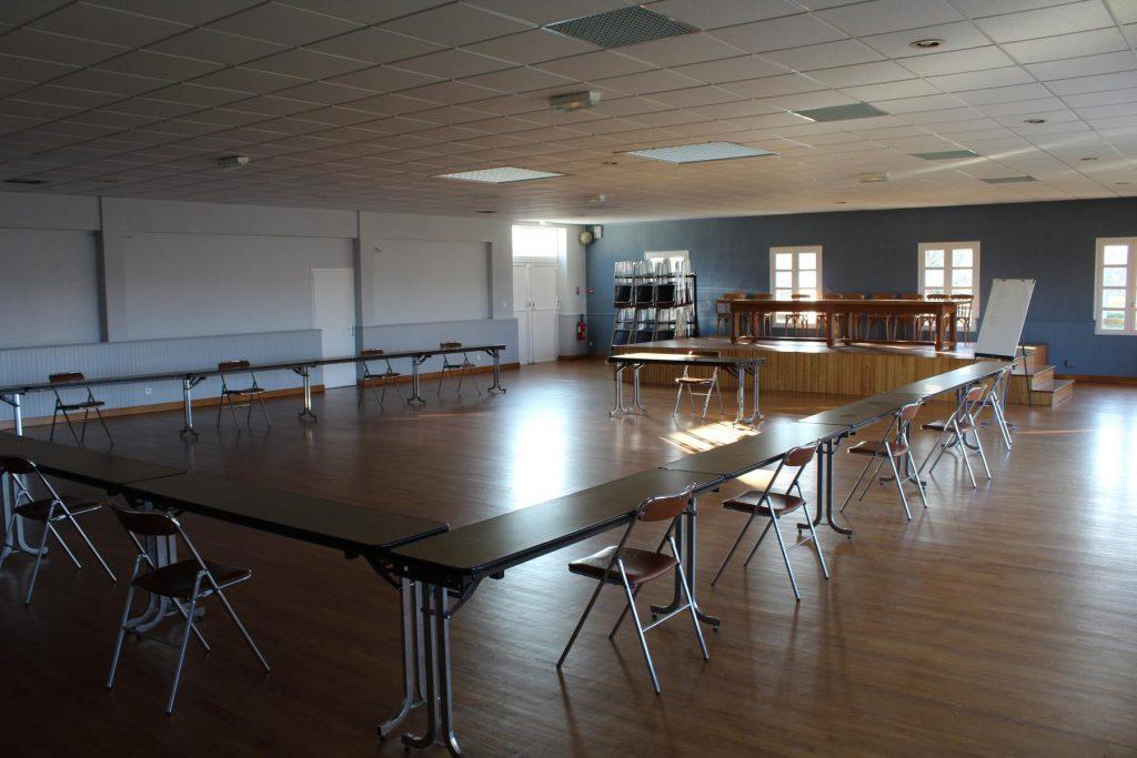 Salle municipale à Mervent à louer
