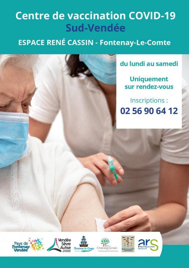 Centre de vaccination COVID-19 Sud-Vendée