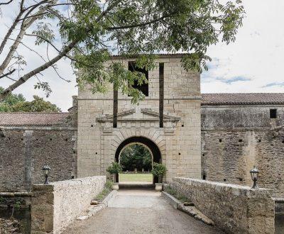 Le château de la Citardière à Mervent