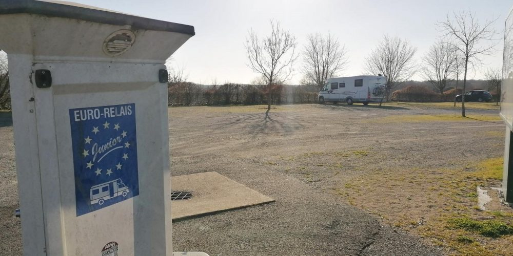 Aire de camping-car à Mervent en Vendée