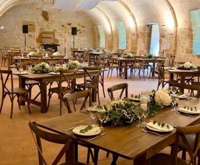 Salle pour événements au château de la Citardière à Mervent