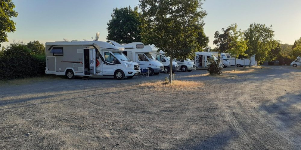 Aire de camping-car à Mervent en Sud Vendée